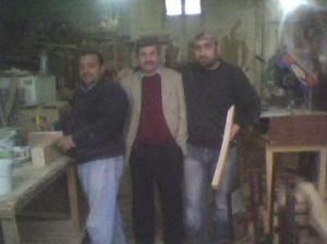 Ali arıcı ve Alpay Abakay