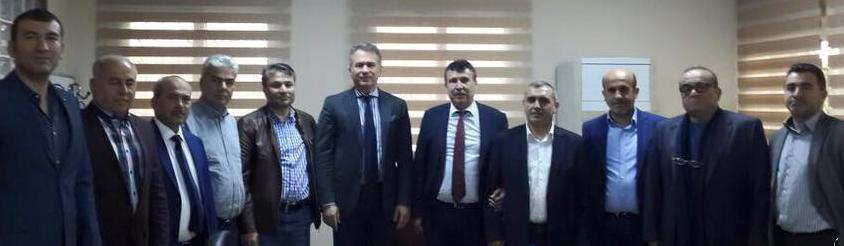 Akdeniz ihracatçılar birliği Başkan'ı M.BÜlent Aymen ve yönetim kurulu